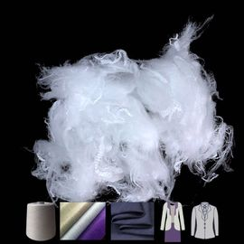 Low Elongation Polyester Staple Fiber With Moderate Oil Content